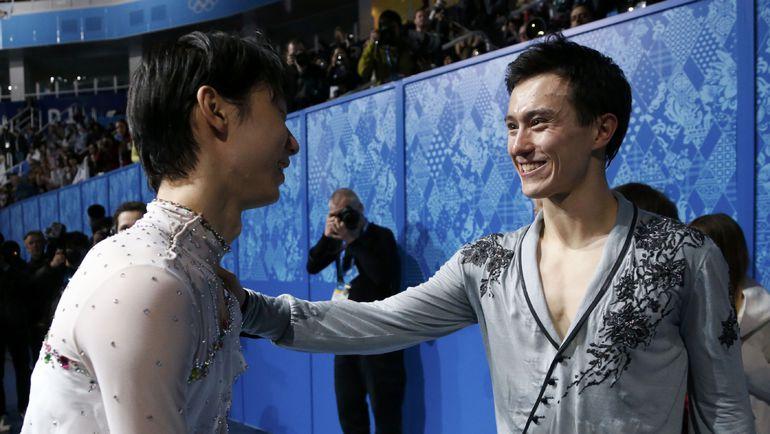 Патрик ЧАН (справа) и Юдзуру ХАНЮ. Фото REUTERS