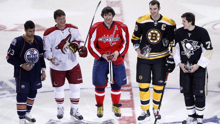 В ближайшее время российские болельщики не увидят звезд хоккея на своих экранах. Фото REUTERS
