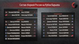Состав сборной России на Кубок
