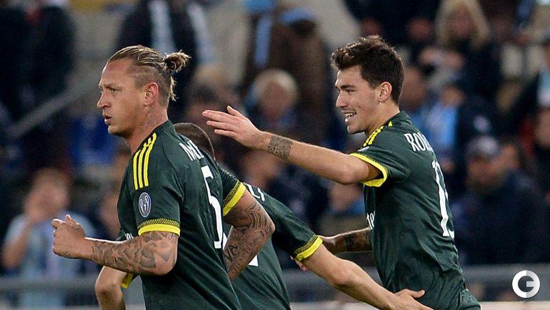"1 ноября. Рим.  ""Лацио"" – ""Милан"" – 1:3."
