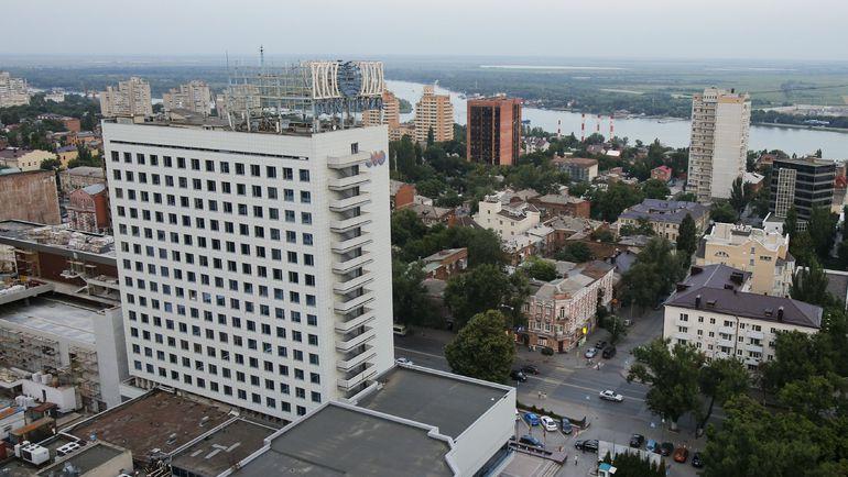 Вид на Ростов-на-Дону с высоты птичьего полета. Фото REUTERS