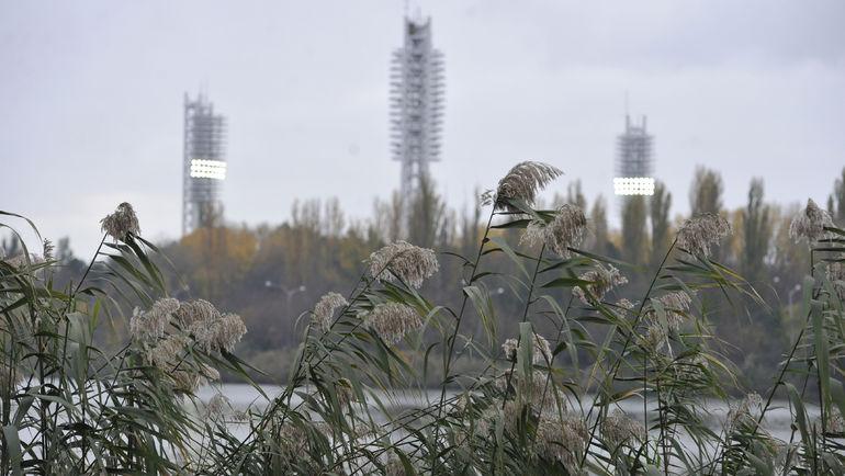 "Вид на стадион ""Кубань"". Фото Александр ФЕДОРОВ, ""СЭ"""