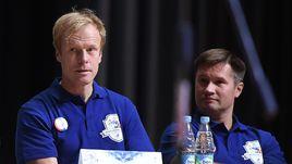 Алексей НЕМОВ (справа) считает, что мужской сборной России по силам побороться за бронзу в командном многоборье на Олимпийских играх-2016.