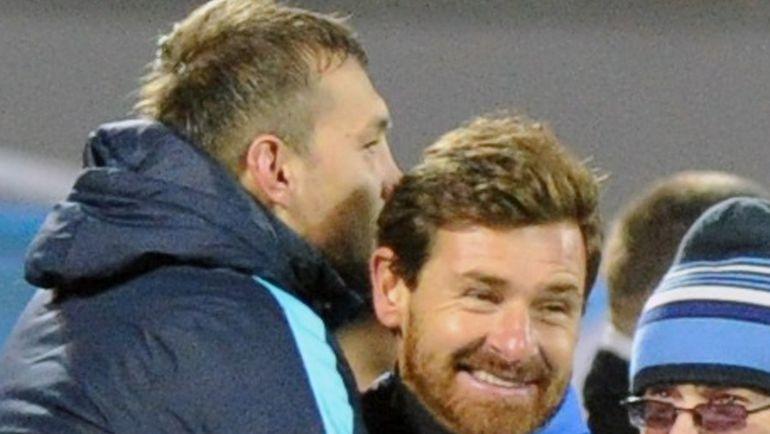 Если в матчах РФПЛ у Андре ВИЛЛАШ-БОАША (справа) негативное настроение, то в Лиге чемпионов он сияет. Фото REUTERS