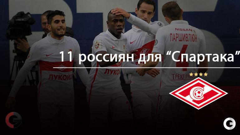 """11 россиян, которые пригодятся """"Спартаку""""."""