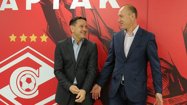 Дмитрий АЛЕНИЧЕВ и Сергей РОДИОНОВ. Фото Алексей ИВАНОВ, «СЭ»