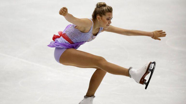 """Сегодня. Пекин. Елена РАДИОНОВА стала третьей на этапе """"Гран-при"""". Фото REUTERS"""