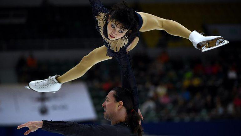 Сегодня. Пекин. Юко КАВАГУТИ и Александр СМИРНОВ. Фото AFP