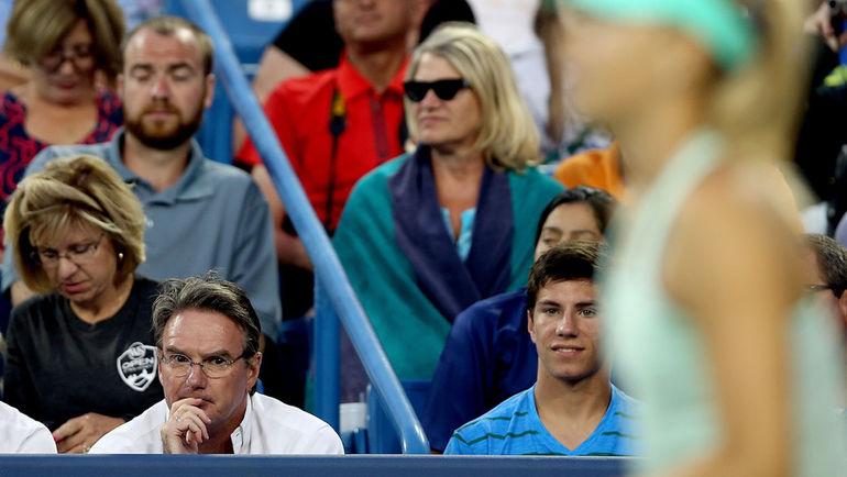 Джимми КОННОРС (в очках). Фото AFP