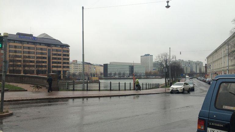 """Хельсинки сегодня утром. Тоска... Фото Филипп ПАПЕНКОВ, """"СЭ"""""""