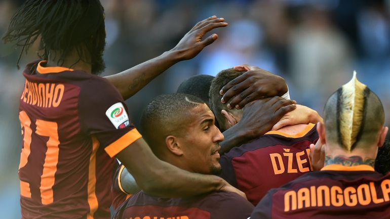 """""""Рома"""" - """"Лацио"""" - 2:0."""