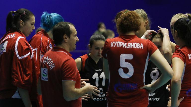 """""""Протон"""" лидирует в суперлиге по итогам пяти туров. Фото balproton.ru"""