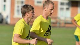 Владислав ИГНАТЬЕВ (справа) и Андрей АРШАВИН на тренировке