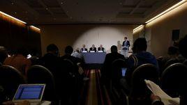 Понедельник. Женева. Пресс-конференция ВАДА о результатах расследования об использовании допинга в российской легкой атлетике.