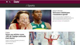 Французское издание Slate бурно отреагировала на публикацию отчета ВАДА.