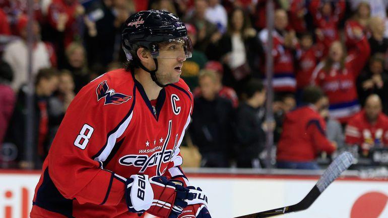 Еще одна шайба и Александр ОВЕЧКИН станет лучшим российским снайпером в НХЛ. Фото AFP
