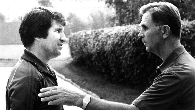 1984 год. Эдуард МАЛОФЕЕВ (слева) и Виктор ТИХОНОВ. Фото Федор АЛЕКСЕЕВ
