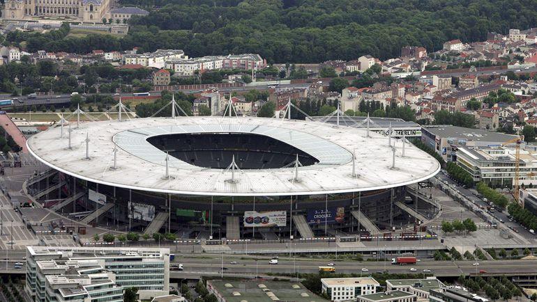 "Вид на стадион ""Стад де Франс"". Фото REUTERS"