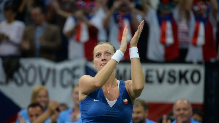 Петра КВИТОВА. Фото AFP