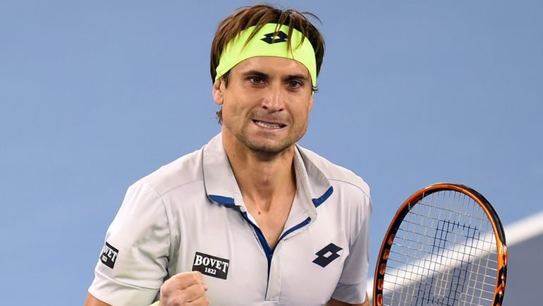 В активе Давида ФЕРРЕРА в сезоне-2015 - пять выигранных турниров ATP. Фото AFP