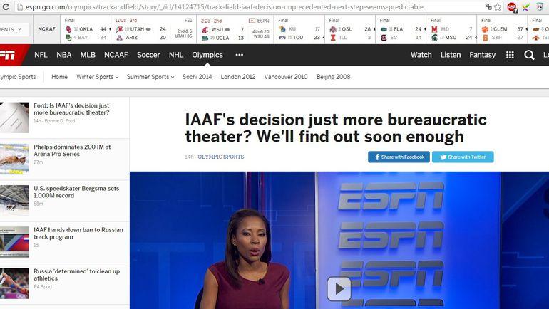 "ESPN. Фото ""СЭ"""