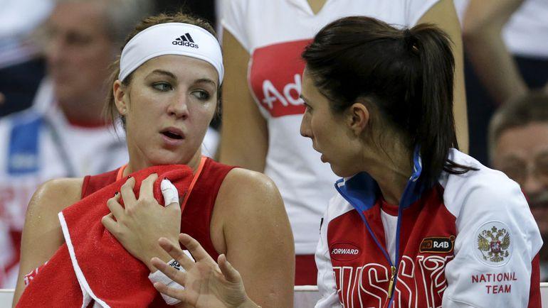 Анастасия ПАВЛЮЧЕНКОВА и Анастасия МЫСКИНА. Фото REUTERS