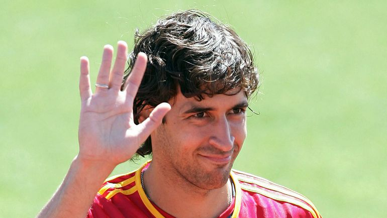 Май 2006 года. Карьера в сборной Испании у РАУЛЯ не сложилась. Фото REUTERS