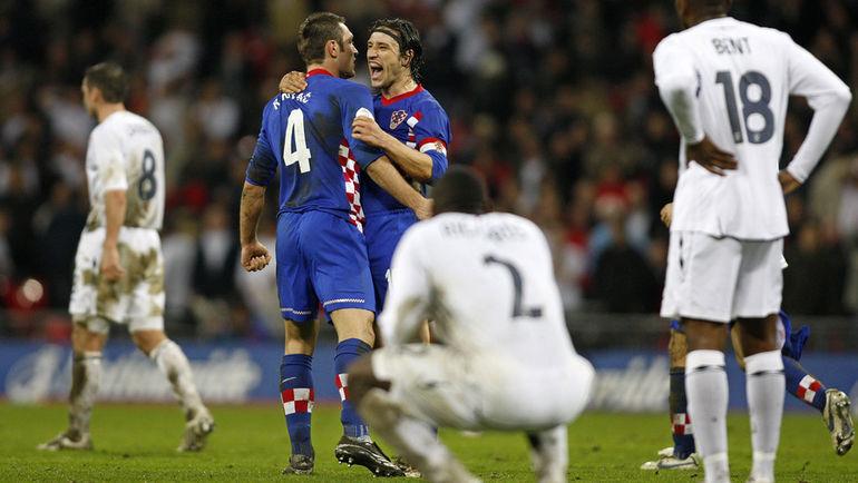 Радость хорватов и разочарование англичан. Фото AFP