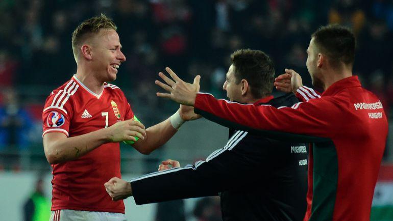 Венгрия - Норвегия - 2:1. Балаж ДЖУДЖАК.