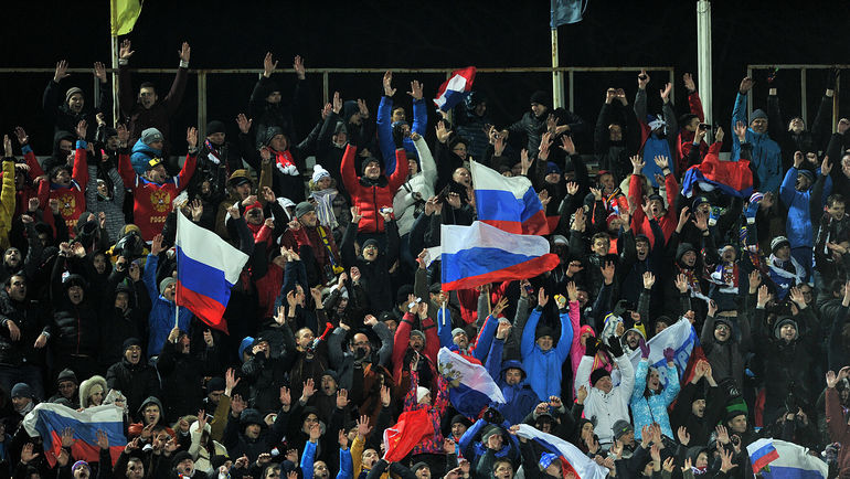 Сборная России впервые сыграла в Ростове-на-Дону. Фото Алексей ИВАНОВ, «СЭ»