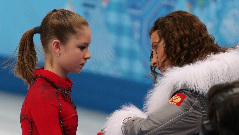 Юлия ЛИПНИЦКАЯ и Этери ТУТБЕРИДЗЕ. Фото ТАСС