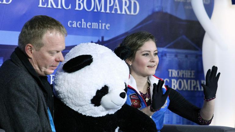 Сергей ДУДАКОВ и Юлия ЛИПНИЦКАЯ в Бордо. Фото Олга БЕНАР