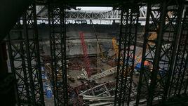 Среда. Санкт-Петербург. Строительство Saint Petersburg Stadium.