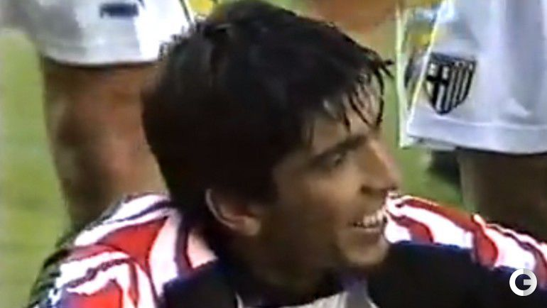 """19 ноября 1995 года. Парма. """"Парма"""" - """"Милан"""" - 0:0. Дебют Джанлуиджи БУФФОНА в итальянском чемпионате."""