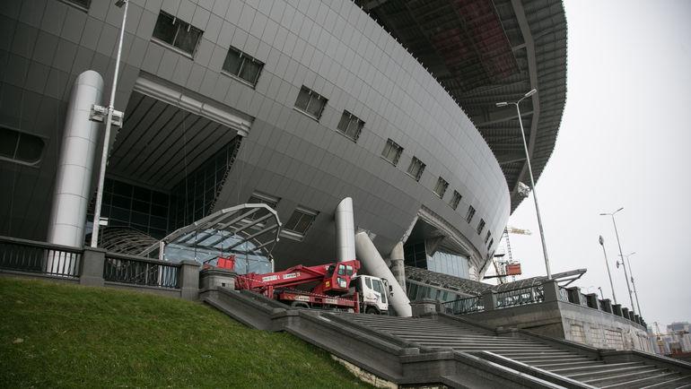 Среда. Санкт-Петербург. Именно здесь будет начинаться футбол в Питере. Фото Кристина КОРОВНИКОВА