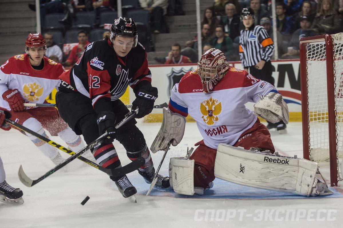 Молодежная сборная России во втором матче Суперсерии уступила Канаде