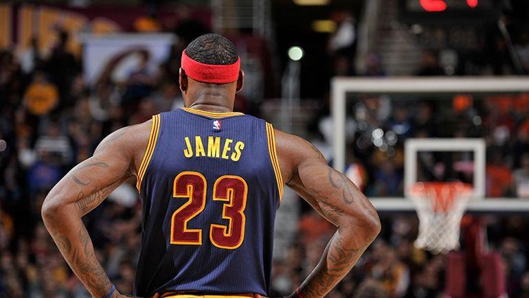 "Суббота. Кливленд. ""Кливленд"" – ""Атланта"" – 109:97. Леброн ДЖЕЙМС. Фото www.nba.com/cavaliers"