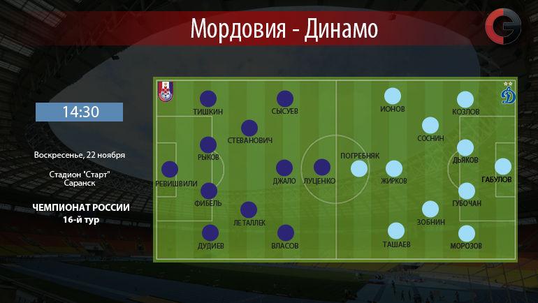 """Мордовия"" vs. ""Динамо"". Фото ""СЭ"""