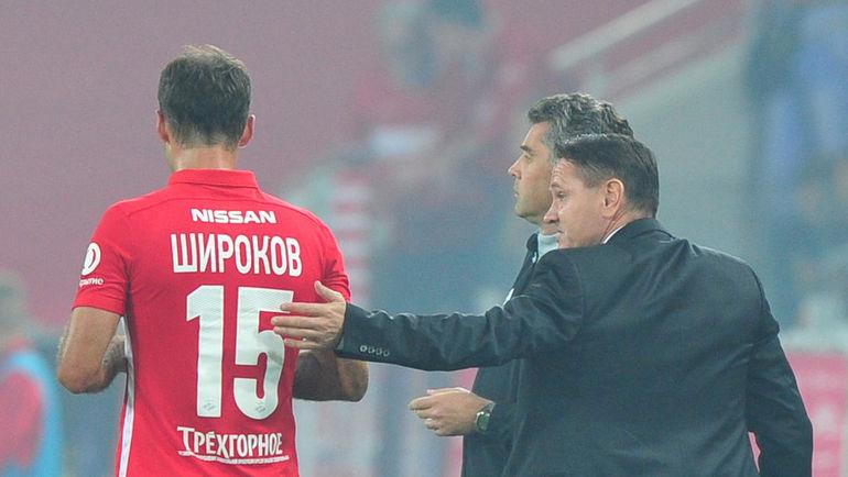 Роман ШИРОКОВ и Дмитрий АЛЕНИЧЕВ. Фото Александр ФЕДОРОВ,