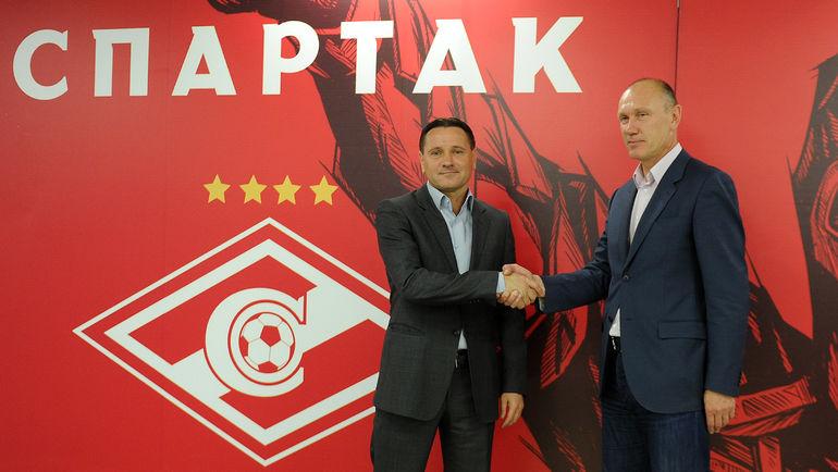 Дмитрий АЛЕНИЧЕВ и Сергей РОДИОНОВ. Фото Алексей ИВАНОВ,