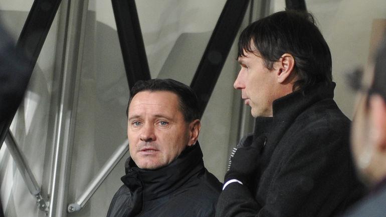 Дмитрий АЛЕНИЧЕВ и Егор ТИТОВ. Фото Александр ФЕДОРОВ,