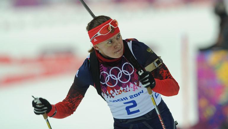 Ольга ВИЛУХИНА в олимпийском Сочи. Фото Федор УСПЕНСКИЙ, «СЭ»