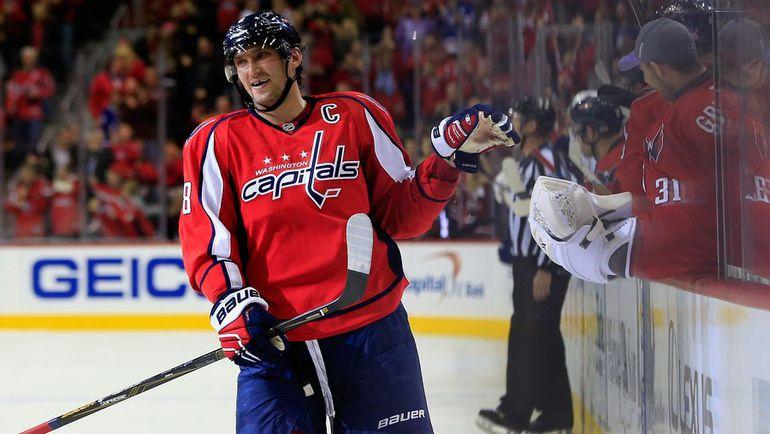 Владислав Третьяк готов поставить Александра ОВЕЧКИНА в один ряд с лучшими советскими хоккеистами. Фото AFP