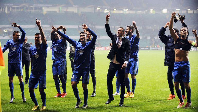 """""""Мельде"""" уже гарантировал себе выход в плей-офф Лиги Европы, но может повлиять на судьбу второй путевки в 1/16 финала. Фото AFP"""