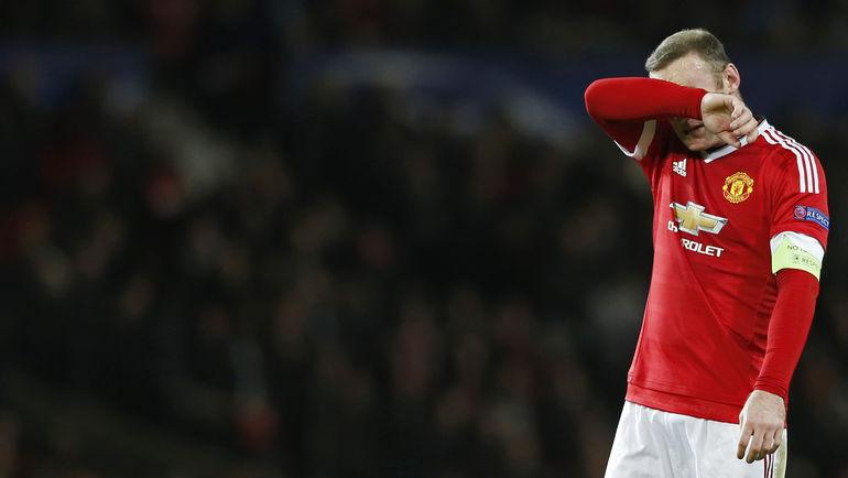 "Среда. Манчестер. ""Манчестер Юнайтед"" – ПСВ – 0:0. Уэйн РУНИ."