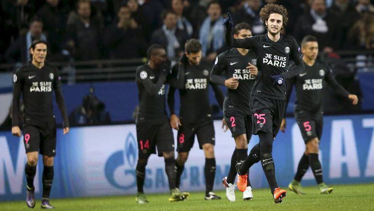 """За пять туров """"ПСЖ"""" пропустил только один мяч - в Мадриде от """"Реала"""". Фото Reuters"""