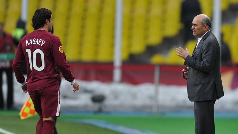 Алан КАСАЕВ и Курбан БЕРДЫЕВ. Фото Александр ФЕДОРОВ,