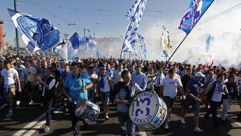 """Пустят ли болельщиков """"Зенита"""" в Гент? Фото REUTERS"""