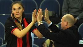 Главный тренер сборной России Александр ВАСИН доволен игрой Марии ВАДЕЕВОЙ, но боится захвалить ее.