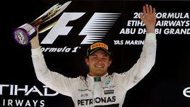 Росберг выиграл последнюю гонку сезона -
